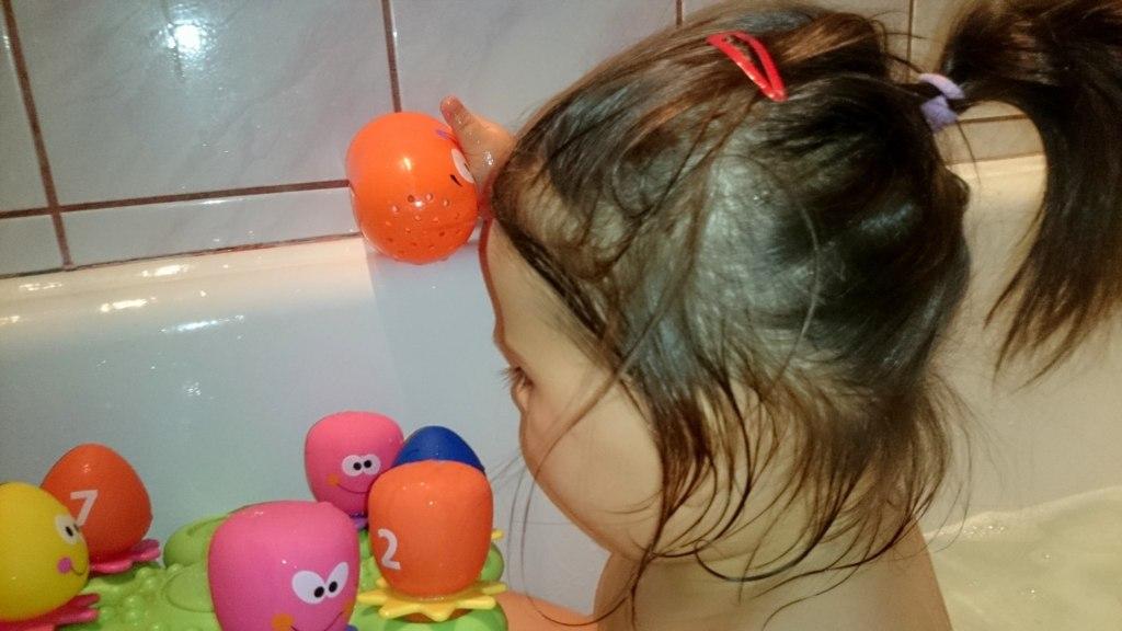 Zabawy w kąpieli