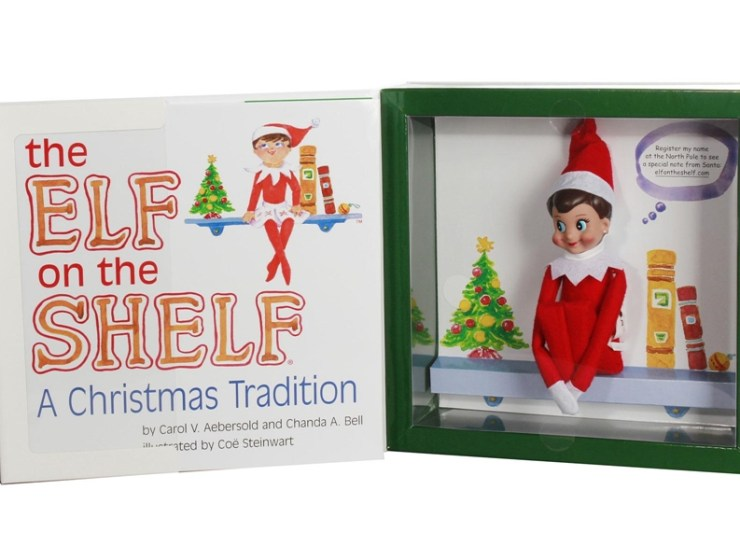 elf on the shelf, elf na półce