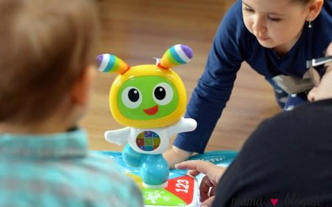 mata BeBo zabawka mata interaktywna 1 - MATA BEBO - CZY DZIECI POLUBIĄ MAŁEGO ROBOTA?