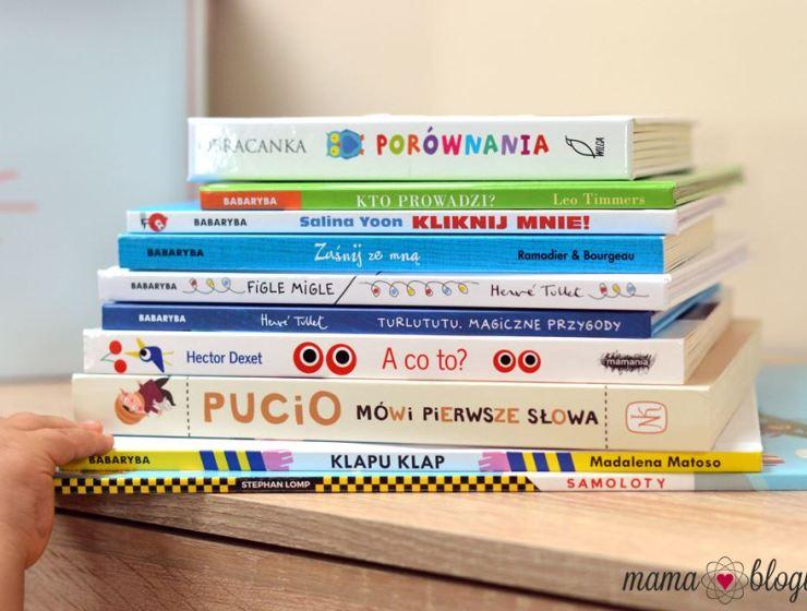 książeczki dla najmłodszych 2 - KSIĄŻKI DLA NAJMŁODSZYCH 0-3 LATA