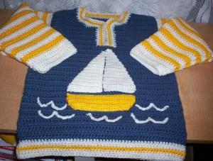 Little sailor sweater