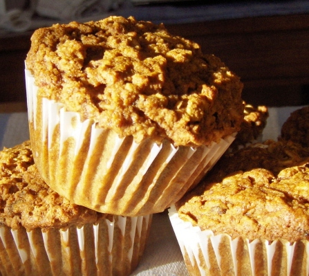 Oatmeal Orange Muffins