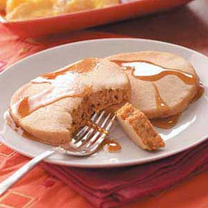 Old Fashioned Pumpkin Pancakes