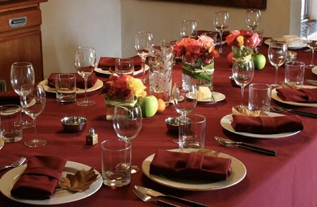 thanksgiving table settings ideas