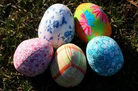 fabric eggs