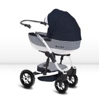 Shell Kombi Kinderwagen 2in1 oder 3in1 mit Babywanne ...
