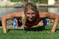 Andrea ist seit 2001 in der Fitnessbranche aktiv und hat ihr Hobby zum Beruf gemacht.
