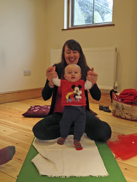 Baby yoga classes in Biggleswade and St Neots
