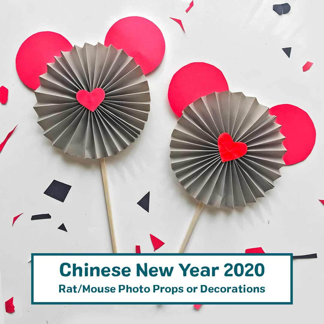Rat Mouse Decoration And Photo Prop