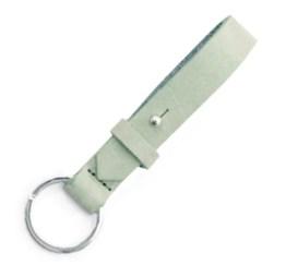 MamaBella AS0009 Cuoio chain sleutelhanger meadow green gemaakt van florentijns leder