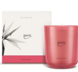 Ipuro Geurkaars Classic ipuro jardin scented candle bougie parfumée kaars aromakaars huisparfum 4051281537477 MamaBella Juwelen en accessoires