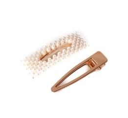MamaBella AH0046 Haarspeldenset Parel Rechthoek Haaraccessoires