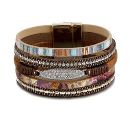 MamaBella AD0038 Boho Brede Armband