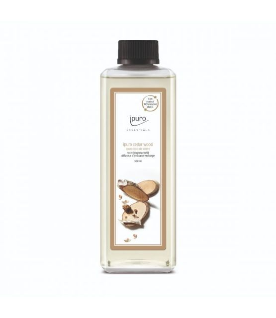Essentials by Ipuro Navulling cedar wood 500 ml refill room fragrances geurdiffuser aromadiffuser huisparfum MamaBella Juwelen en accessoires