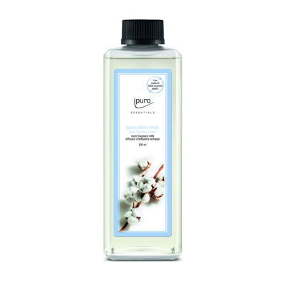 Essentials by Ipuro Navulling cotton fields 500 ml refill room fragrances geurdiffuser aromadiffuser huisparfum MamaBella Juwelen en accessoires