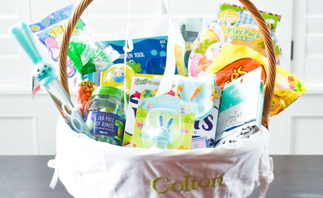 Easter Basket Ideas For 2 Year Old Boys Mamabops