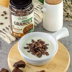 homemade mocha granola