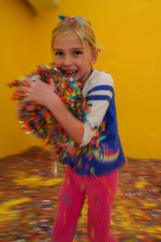 Color Factory Houston with Kids
