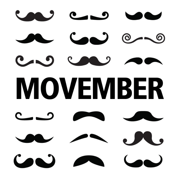 Shave the Date: Movember Ends Nov. 30 {Giveaway