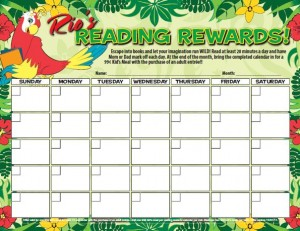 FREE Reading Incentive Chart - My Daily Reading Minutes | ACN ...