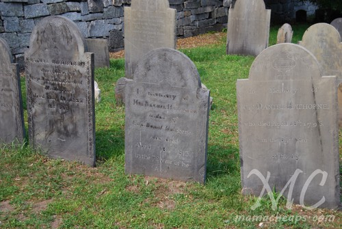 Salem Massachusetts Cemetery