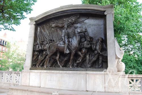 54th Massachusetts Monument Boston