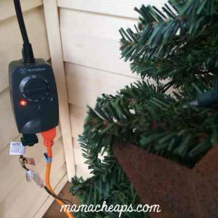 holiday lights timer
