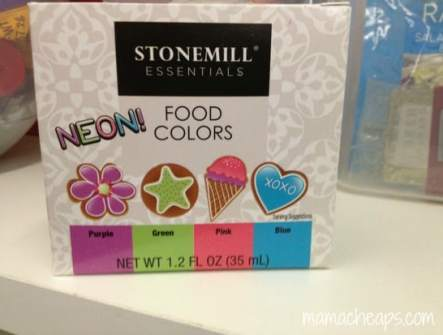 neon food dye aldi stonemill essentials