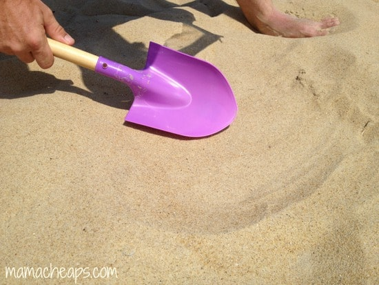 diy beach handprint footprint craft frame a