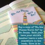 oh the places you'll go teacher graduation gift idea