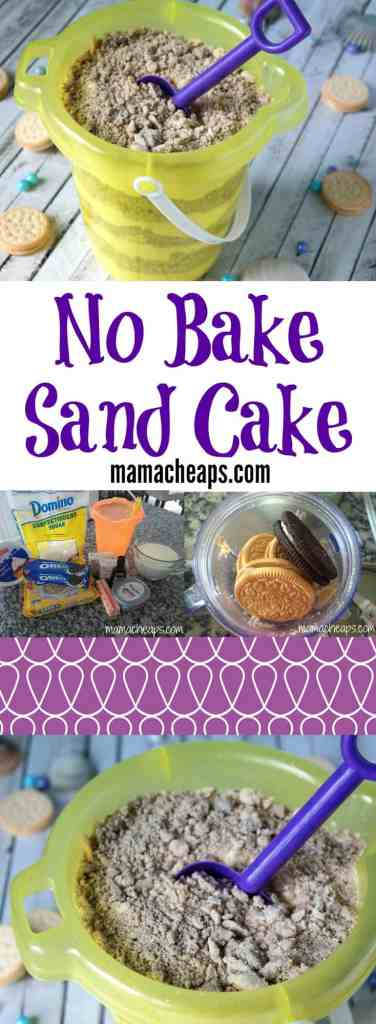 No Bake Sand Cake Recipe