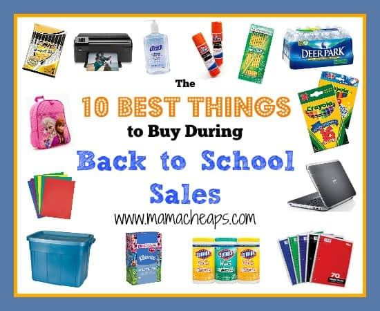 The 10 Best Things to Buy During Back to School Sales ...