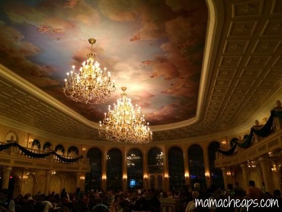 disney world magic kingdom be our guest restaurant grand ballroom