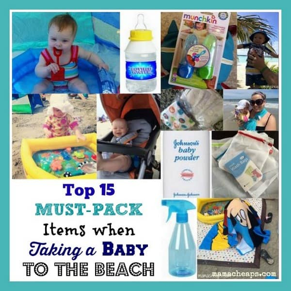 baby to the beach must have items title
