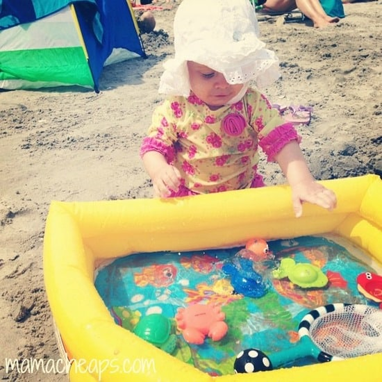 Check out this AWESOME Baby Beach Tent with Poolu2026 it nestles into the sand!! & Top 15 MUST-PACK Items for Taking a Baby to the Beach | Mama Cheaps