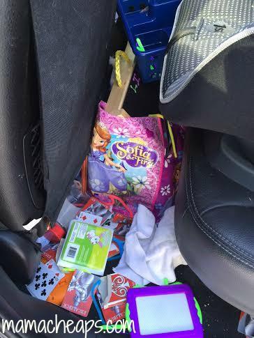 car mess