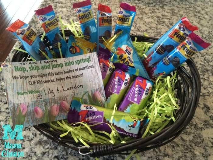 Balancing out that easter basket with clif kid ad mama cheaps clif bars easter basket negle Gallery