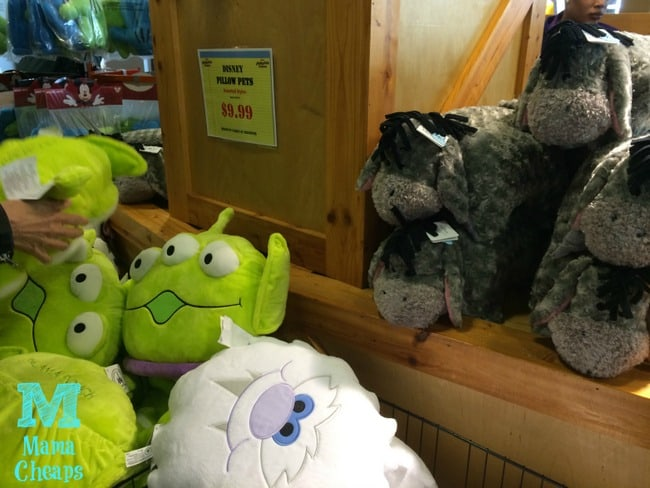 disney store pillow pets