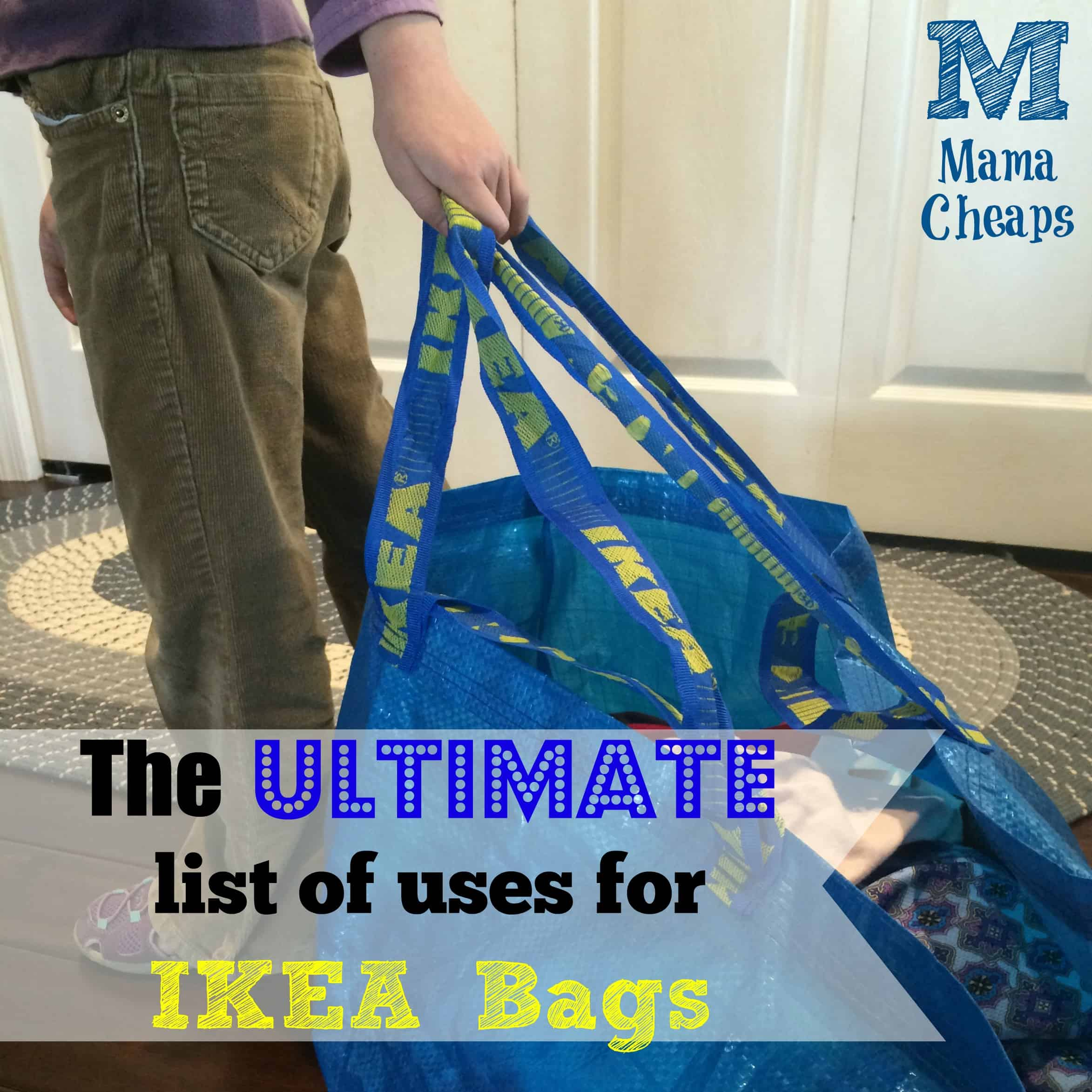 Attractive The ULTIMATE List Of Uses For IKEA FRAKTA Bags