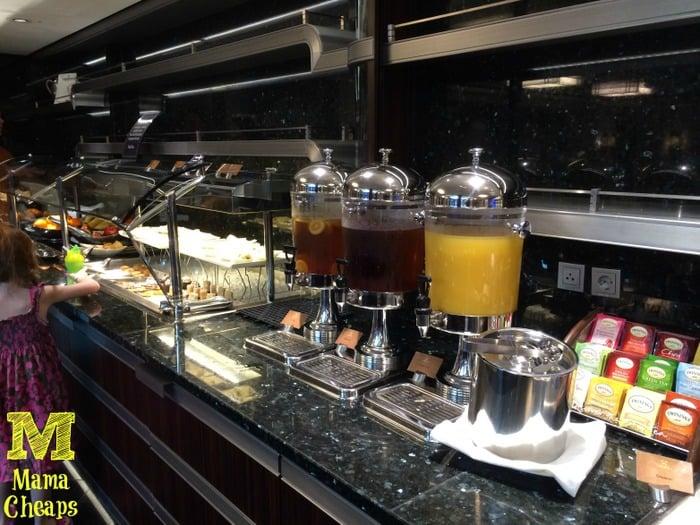 disney dream concierge lounge beverages