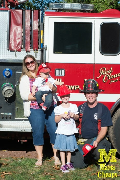 fire truck party family
