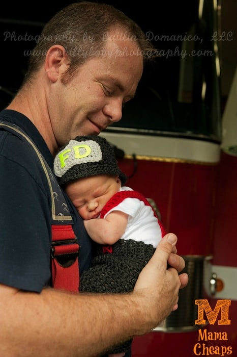 firefighter newborn fire truck landon