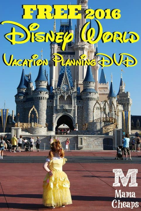 FREE Disney Vacation Planning DVD