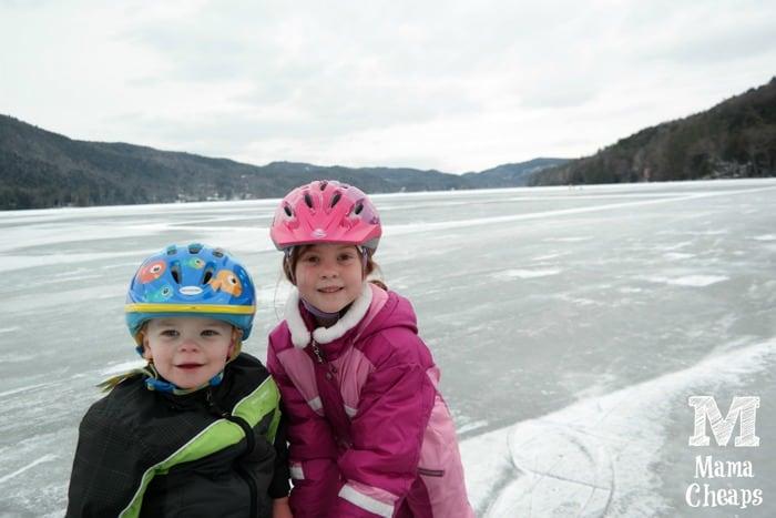 Kids on Lake Morey 1