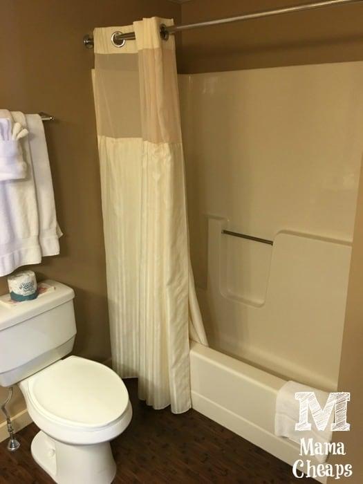 Lake Morey Resort Bathroom