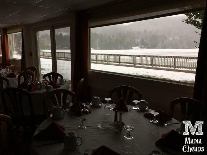 Lake Morey Resort Dining Room Lake View