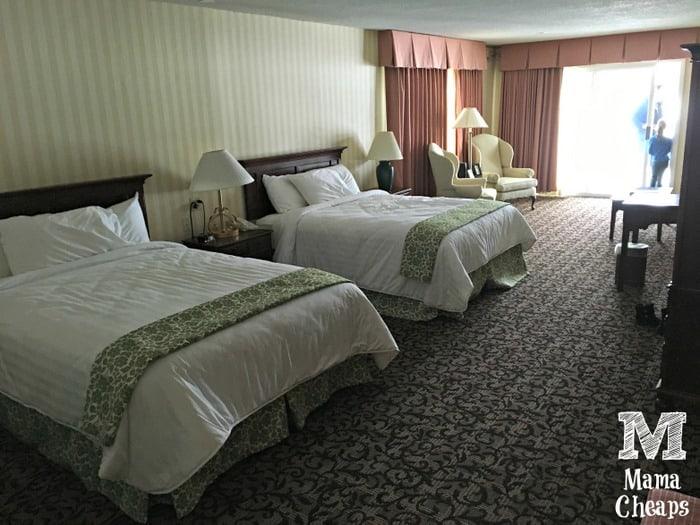 Lake Morey Resort Terrace Room Beds