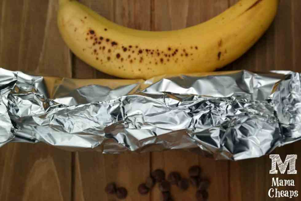 Banana Wrapped in Foil