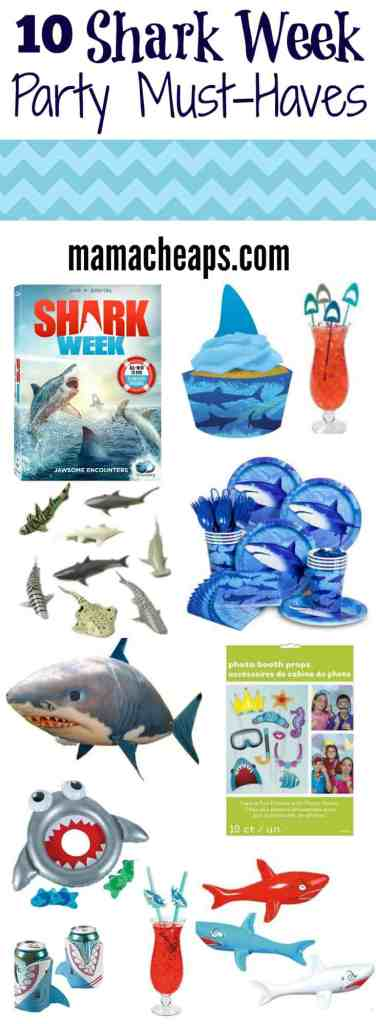 Shark Week Party Must Haves