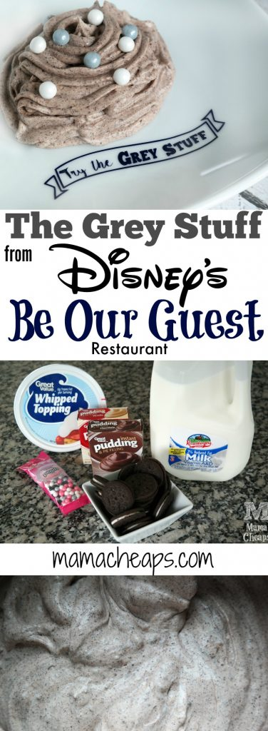 The Grey Stuff Disneys Be Our Guest